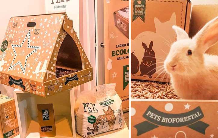 lecho para conejos